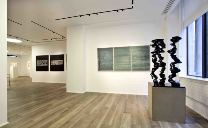 Checkmate - exhibition view at Cortesi Gallery, Londra 2016 - photo Fraser Marr