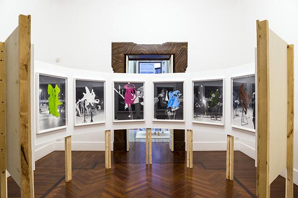Damir Ocko –Year out of Shape – exhibition view at Galleria Tiziana Di Caro, Napoli 2016 – photo Danilo Donzelli