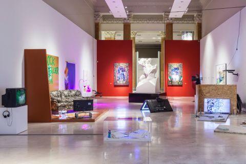 Domenico Quaranta, Cyphoria, exhibition view - Credits OKNOstudio - Courtesy La Quadriennale di Roma