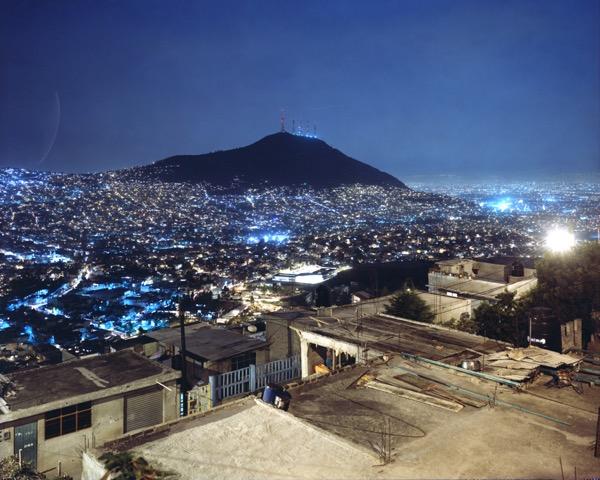 Domingo Milella, #0245. Cuautepec, nocturne, Mexico City 2004