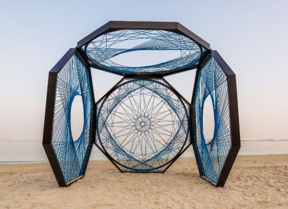 Dubai Design Week_Installations_Aljoud Lootah_Yaroof_THE BEACH by Meraas