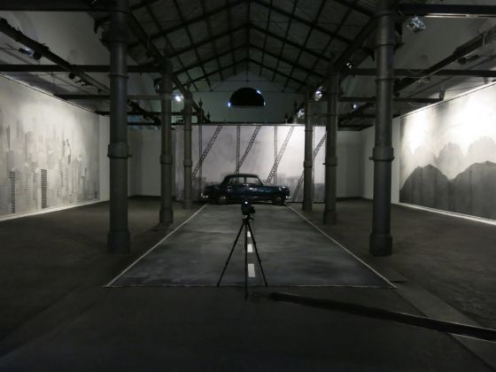 Edgar Honetschläger – Los Feliz - exhibition view at Macro Testaccio, Roma 2016