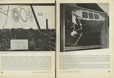 Frederick J. Kiesler & Berenice Abbott, The Architectural Record, maggio 1937