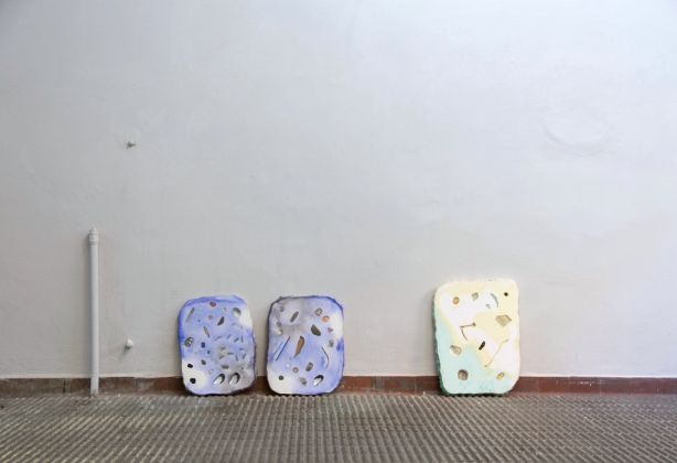 Hannah Lees – The Oldest Thing You Can Hold In Your Hand - exhibition view at The Workbench, Milano 2016