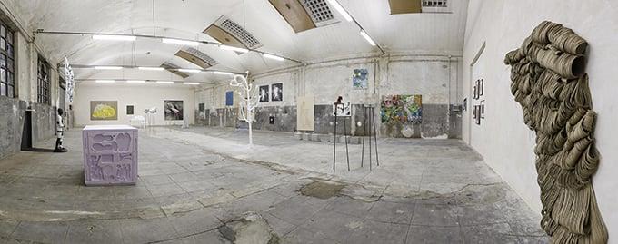 Haus der Kunst - exhibition view at Cantieri Culturali alla Zisa, Palermo 2016