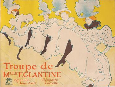 Henri de Tolouse-Lautrec - Troupe