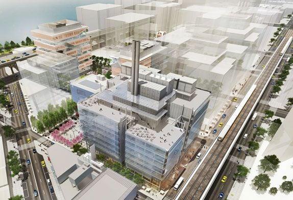 Il render del Campus di Renzo Piano ad Harlem