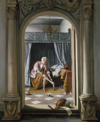 Jan Steen, A Woman at her Toilet, 1663, Royal Collection Trust - © Her Majesty Queen Elizabeth II 2016
