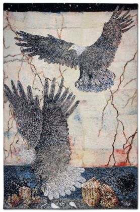 Kiki Smith, Guide, 2013 - courtesy Galleria Lorcan O'Neill, Roma