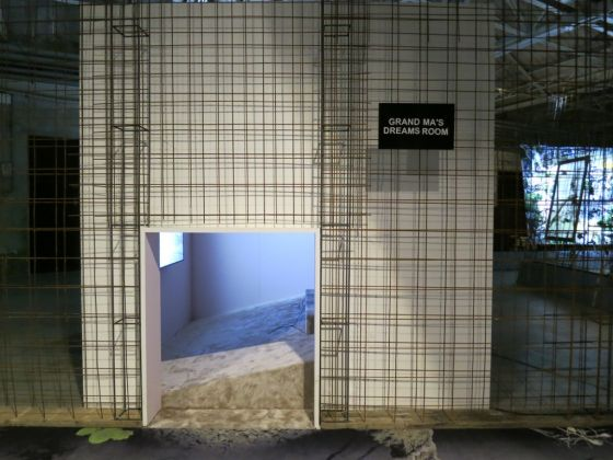 Laure Prouvost – GDM. Grand Dad's Visitor Center - installation view at HangarBicocca, Milano 2016