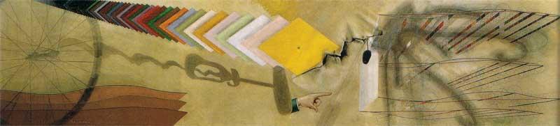 Marcel Duchamp, Tu m', 1918