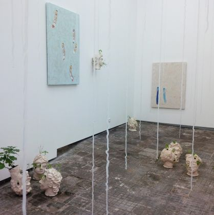 Marco Giordano – asnatureinded - exhibition view at Frutta Gallery, Roma 2016