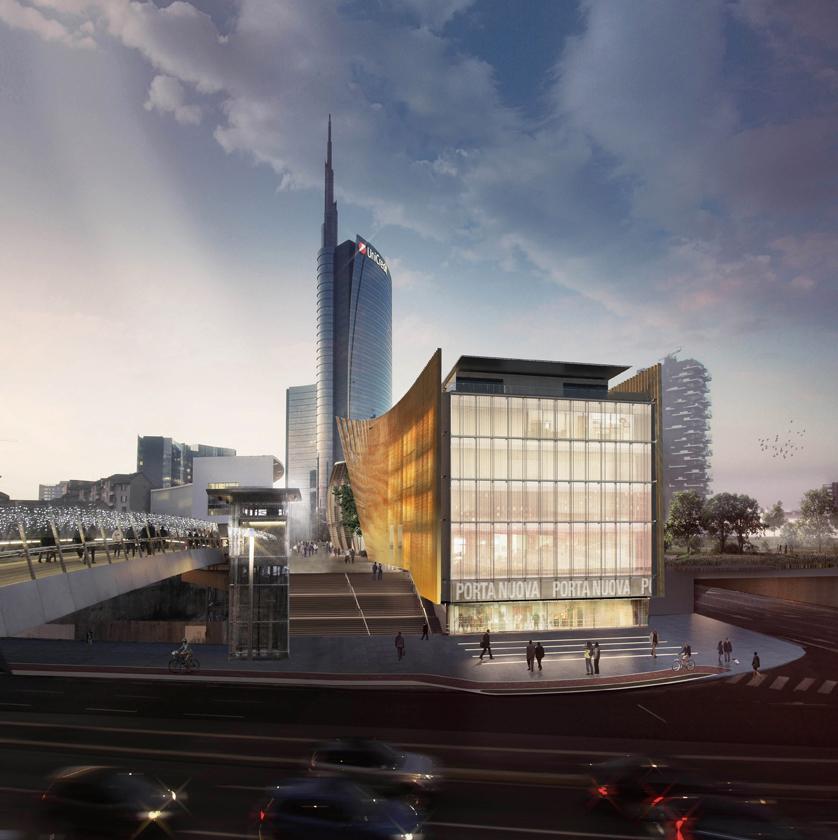 Mario Cucinella Architects, COIMA, Porta Nuova, Milano