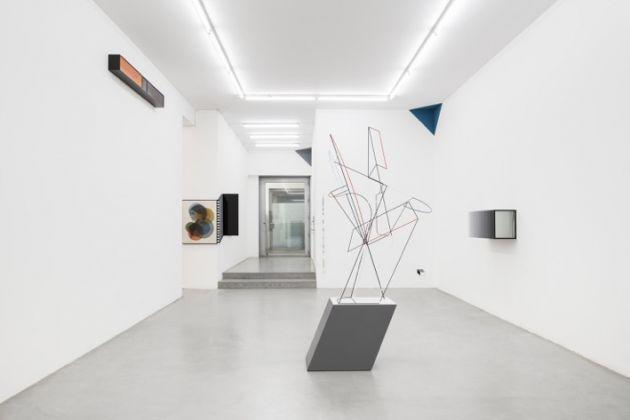 Matthias Bitzer – Immaculate Cloud - exhibition view at Galleria Francesca Minini, Milano 2016