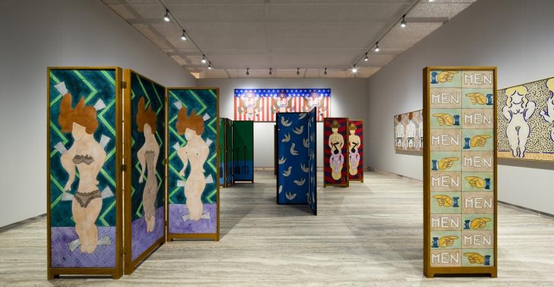 Milano, William N. Copley in mostra alla Fondazione Prada - Foto Roberto Marossi. Courtesy Fondazione Prada