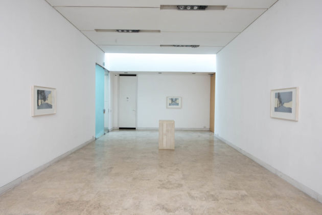 Miroslaw Balka – Emplacement – exhibition view at the British School at Rome, Roma 2016 - photo Giorgio Benni
