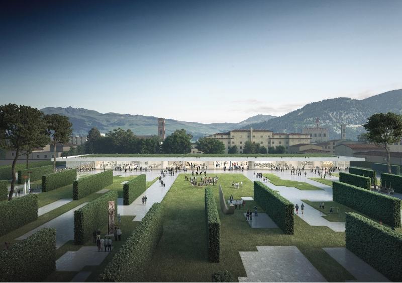 Parco Centrale di Prato. Il progetto di OBR + Desvigne