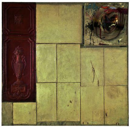 Robert Rauschenberg, Interior, 1956, combine painting, The Sonnabend Collection Foundation, in prestito a Ca' Pesaro, Venezia