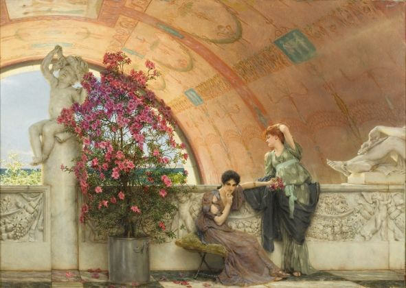 Sir Lawrence Alma-Tadema, Unconscious Rivals, 1893, Bristol Museums & Art Gallery, Bristol