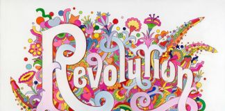 The Beatles Illustrated Lyrics, Revolution, 1968 by Alan Aldridge - © Iconic Images, Alan Aldridge