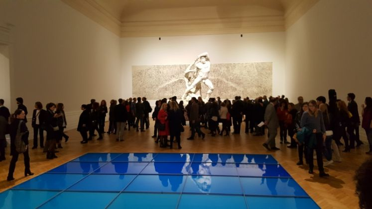 Time is out of joint. L'opening della mostra alla GNAM di Roma