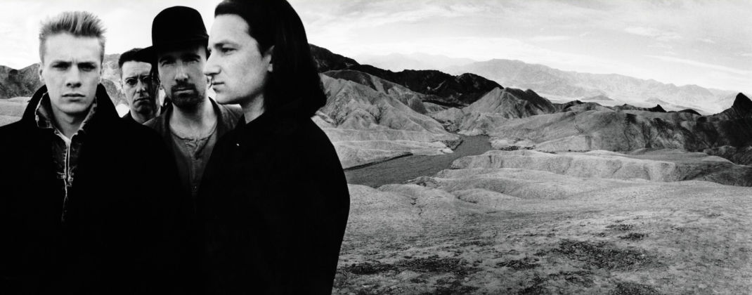 U2, The Joshua Tree (1987) - photo Anton Corbijn
