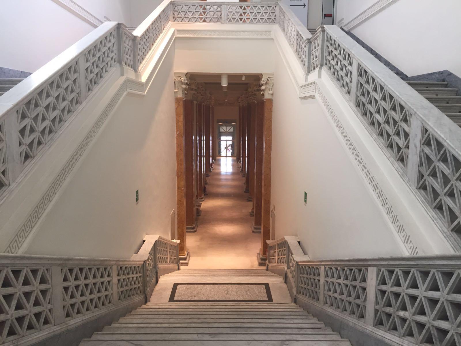 Veduta del Palazzo delle Esposizioni (courtesy Comin and Partners)