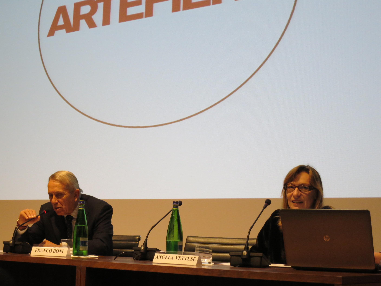Angela Vettese presenta Arte Fiera Bologna nel 2016