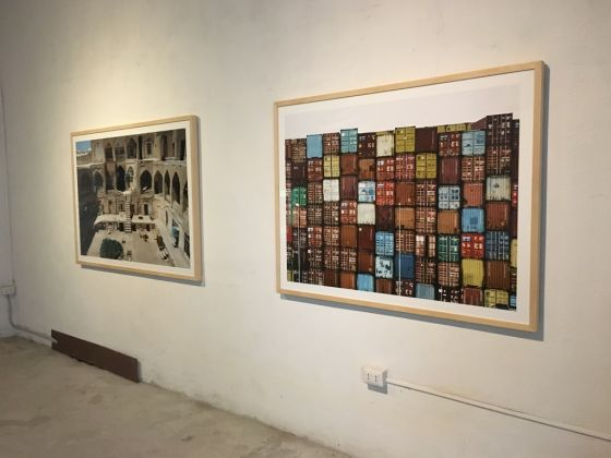 Arash Radpour - exhibition view at Dino Morra Arte Contemporanea, Napoli 2016