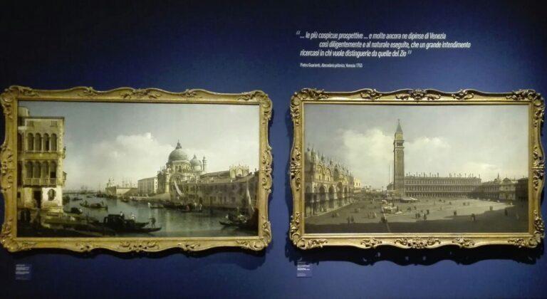 Bellotto e Canaletto - Lo stupore e la luce, Milano, Gallerie d'Italia