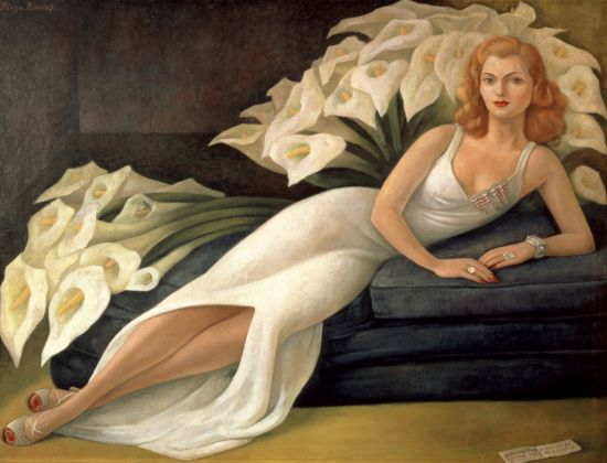 Diego Rivera, Ritratto di Natasha Gelman, 1943 - The Jacques and Natasha Gelman Collection of 20th Century Mexican Art and The Vergel Foundation, Cuernavaca
