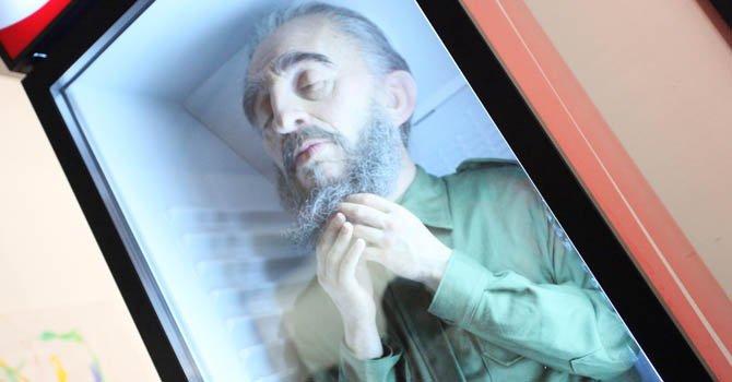 Fidel Castro visto da Eugenio Merino