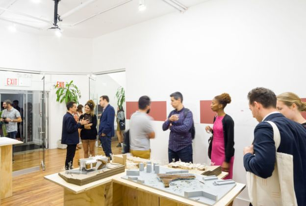 Fifth Dimensional Cities – installation view at Java Project Gallery, New York 2016 – photo credits Aaron Thomson