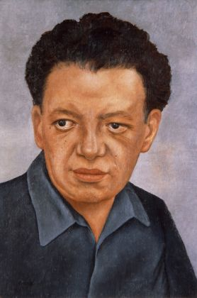 Frida Kahlo, Ritratto di Diego Rivera, 1937 - The Jacques and Natasha Gelman Collection of 20th Century Mexican Art and The Vergel Foundation
