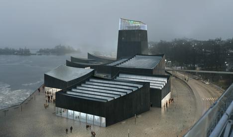 Il Guggenheim di Helsinki nel progetto di Moreau e Kusunoki