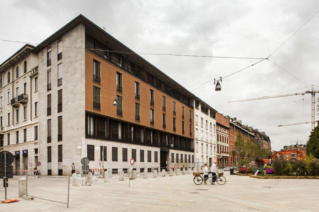 Luigi Caccia Dominioni, Casa Caccia Dominioni, Piazza Sant'Ambrogio, Milano - photo Filippo Romano
