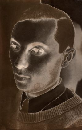 Maurice Tabard, Solarised Man, 1930. Gelatin silver print on paper, 248 x 165 mm. The Sir Elton John Photography Collection, courtesy Tate, London
