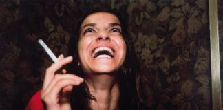Nan Goldin, Joana laughing, l'Hotel, Paris, 1999