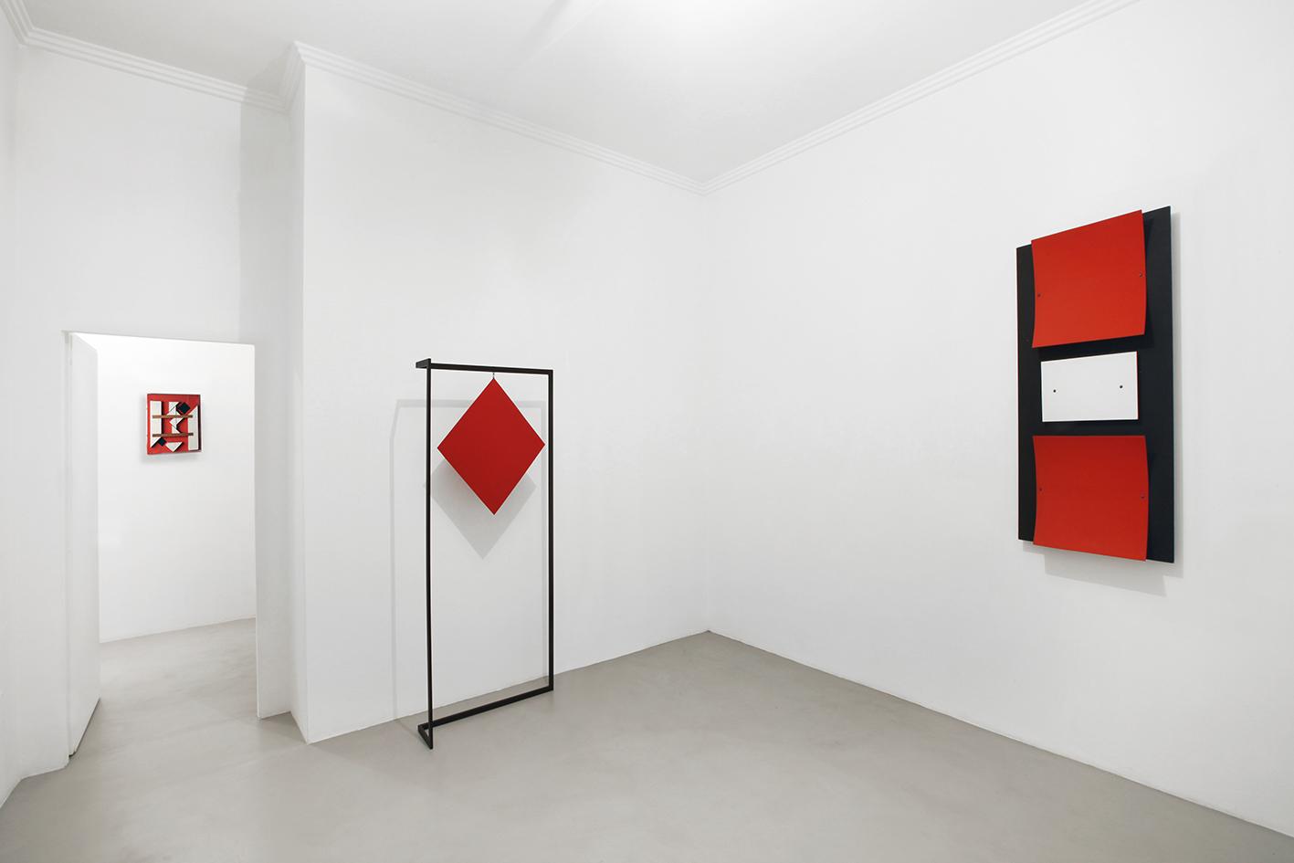 Nicola Carrino - exhibition view at A arte Invernizzi, Milano 2016