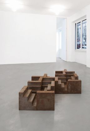 Nicola Carrino - exhibition view at A arte Invernizzi, Milano 2016