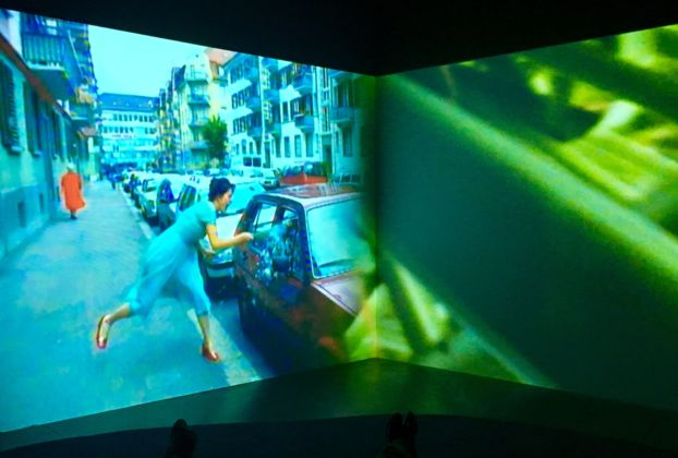Pipilotti Rist – Pixel Forest - exhibition view at New Museum, New York 2016