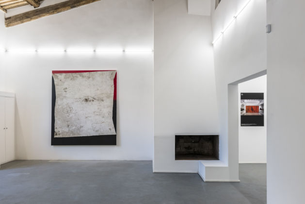 Residenze #1 – Flavio Favelli e Gianni Politi - exhibition view at Albumarte, Roma 2016