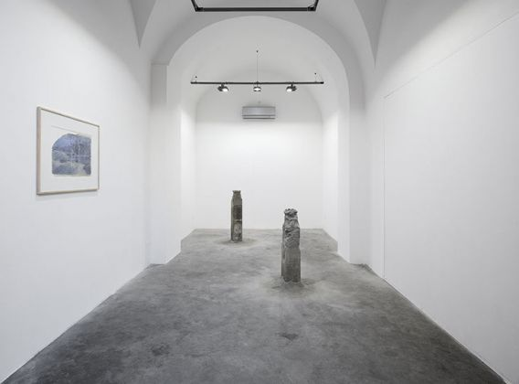 Stefano Canto - exhibition view at Matèria, Roma 2016