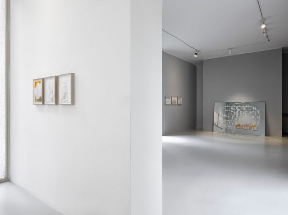 Wael Shawky - exhibition view at Lisson Gallery, Milano 2016 - Courtesy Lisson Gallery - photo Jack Hems