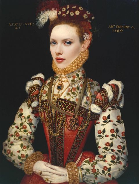 A Young Lady Scarlett by Joe James - progetto Tate Fame