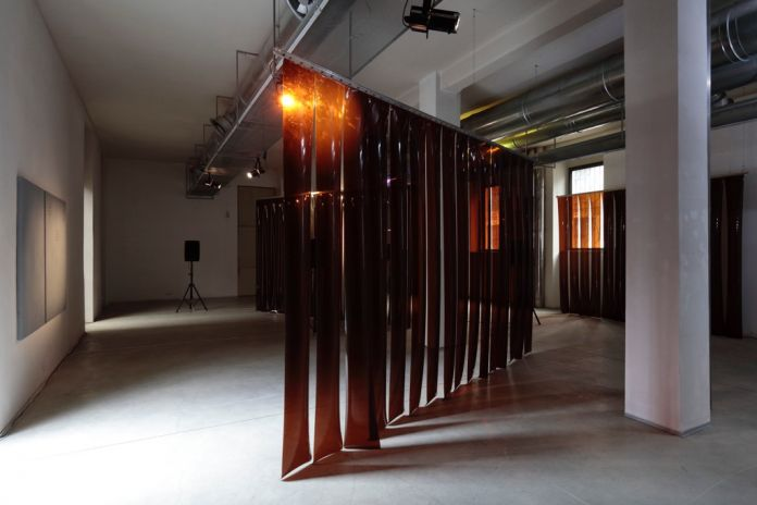 Alfredo Aceto – Something between... - exhibition view at Barriera, Torino 2016