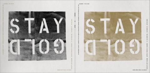 Backwords, Tre (Stay Gold) - Cover Art Lovett-Codagnone