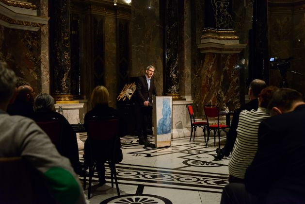 Edmund de Waal meets Albrecht Dürer - During the Night at Kunsthistorisches Museum, Vienna 2016 - photo KHM Museumsverband