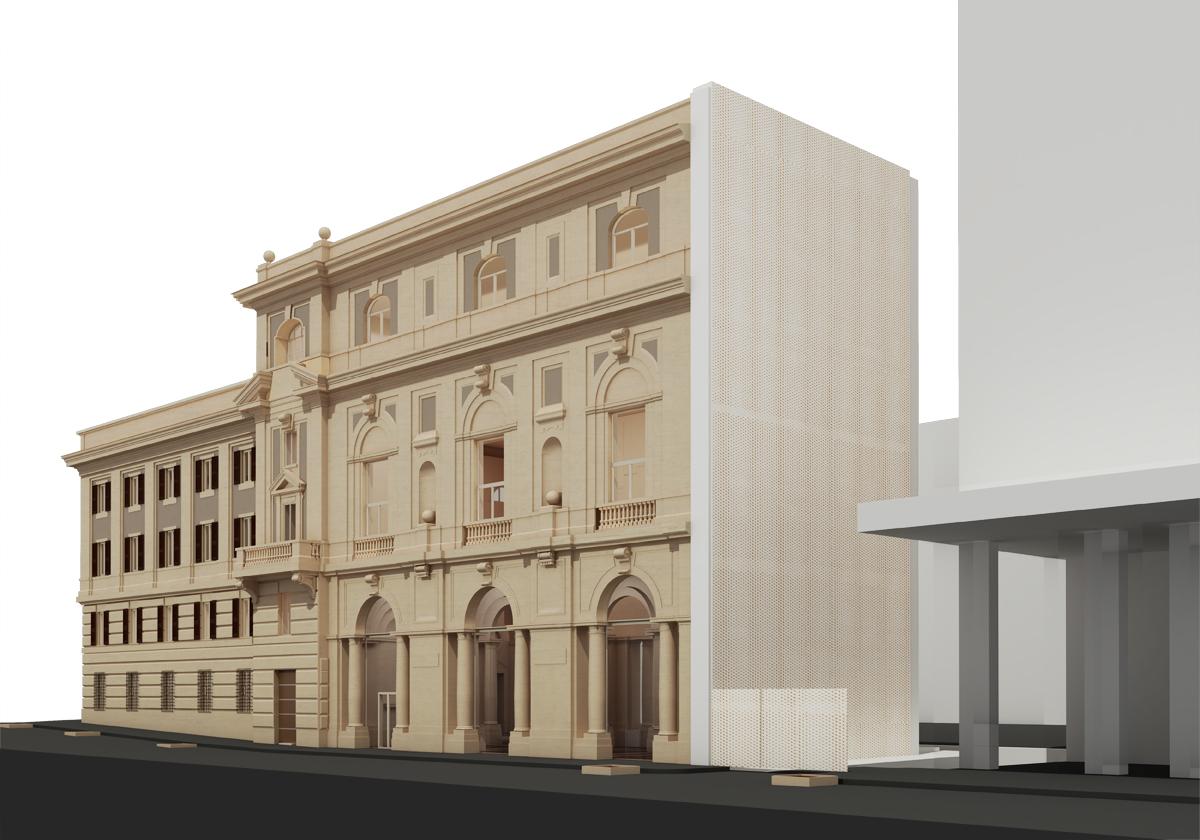 Fondazione Cerasi - Scorcio