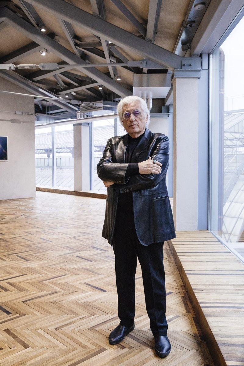 Germano Celant, Fondazione Prada Osservatorio (Foto: Ugo Dalla Porta)
